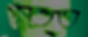 Alien Brille Vintage Look Green Spende